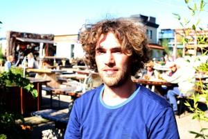 """""""Zu viel Energie wird für das Falsche verwendet"""", meint Guus van der Ven, Community-Koordinator in der De Ceuvel"""