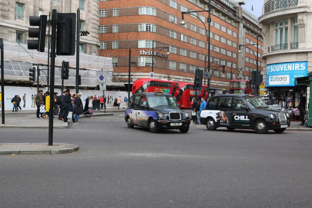 An der Marble Arch des Londoner Hyde Parks beginnt die berühmte Oxford Street. Berüchtigt ist sie auch für eine der höchsten Stickstoffdioxidverschmutzung der Welt